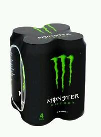 20 cans Monster energy drink