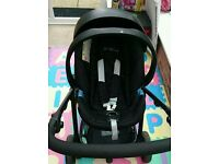 Free travel car seat and carry cot/moses