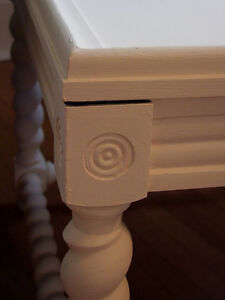 Queen Anne and Jacobean style side tables London Ontario image 3