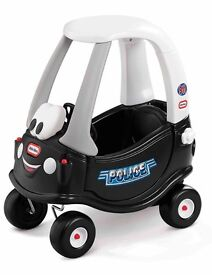 Cozy coupe police car