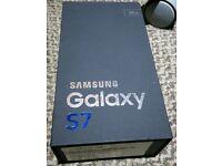 Samsung s7 32g black New