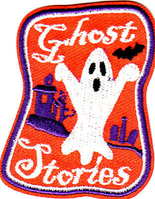 GHOST STORIES Iron On Patch Halloween Scary