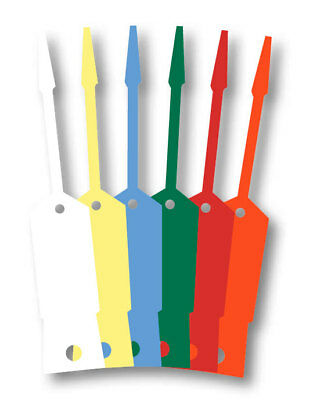 Self-lock Arrow Id Vinyl Key Tags 1000 Per Pack Form Slkt
