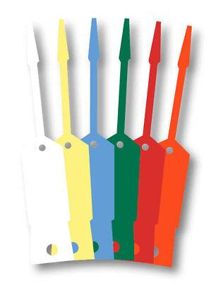 Self-lock Arrow Id Plastic Key Tags 1000 Per Pack Form Slkt