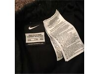 Mens 2xl Black Nike Tracksuit Bottoms / Joggers