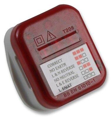Uk Mains Socket Tester 240v Polarity Test 3 Pin Plug Electrical Wiring House