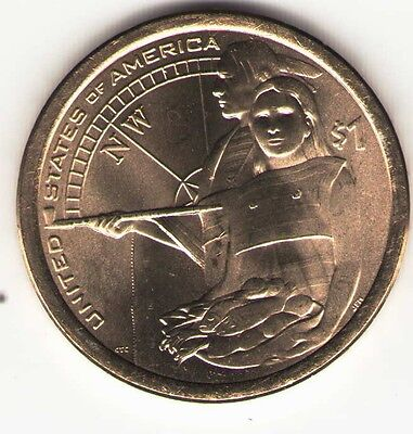 US. 2014-D. NATIVE AMERICAN DOLLAR. UNCIRCULATED.