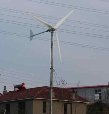 wind generator 3kw 3000w home wind generator solar weather electricity power