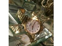 New Lorus gold plated ladies watch