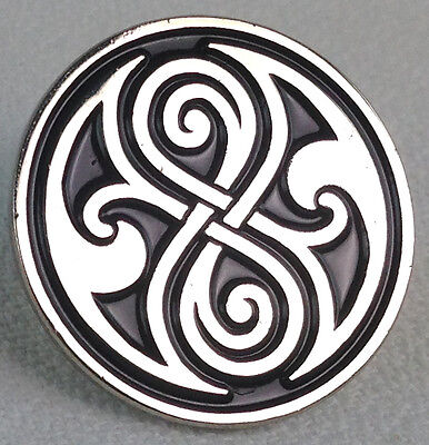 The Seal of Gallifrey (Rassilon) Doctor Who TV Series - UK Imported Enamel Pin