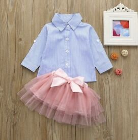 Baby girls cute/casual outfit