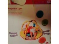 Playmat & gym