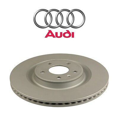 For Audi A8 Quattro S6 S7 S8 Rear Left or Right Vented Brake Disc Rotor Genuine
