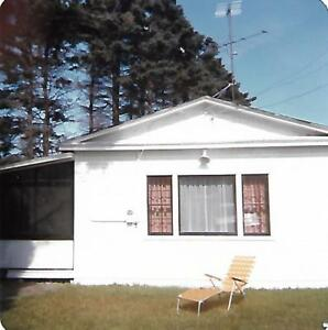 4 acres beachfront on Bay of Chaleur with cottage