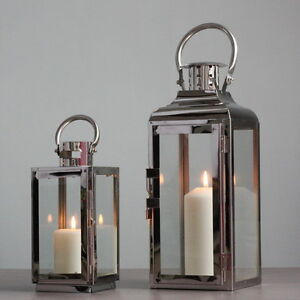 Http Www Ebay Com Au Itm Elegant Metallic Stainless Steel Candle Holder Lantern Modern Home Decor 191560822473