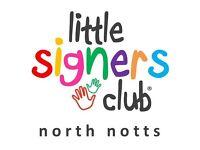 Little Signers Club Baby Signing Classes - Hucknall, Ravenshead, Arnold, Beeston, Riddings