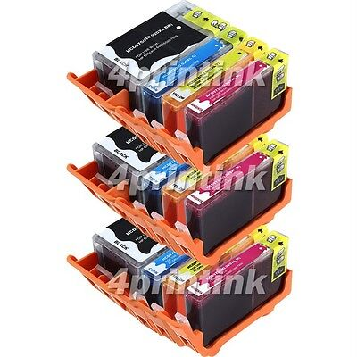 12 Pack 920xl Ink Combo Fits Officejet 7000 6000 6500