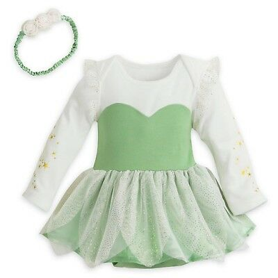 Disney Store Tinkerbell Baby Costume Wings Bodysuit 6-9 Months BNWT Peter Pan](Infant Tinkerbell Costume 6 Months)
