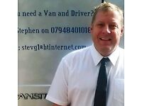 Man and Van Removal Services - Prices Starting From Just £20 Per Hour Fully Insured & Professional
