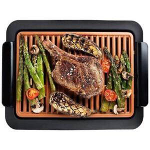 GOTHAM STEEL SMOKELESS ELECTRIC GRILL PORTABLE AND NONSTICK AS SEEN ON TV