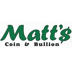 Mattscoin COINS BANKNOTES BULLION Store & Weekly Auctions