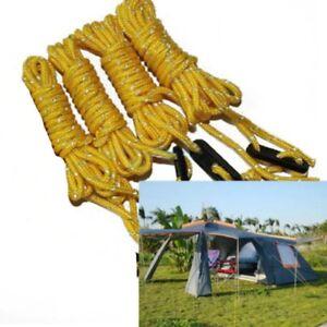 4pcs Cordes Multifonction Tente, Toile, Camping + bloqueur  VVV