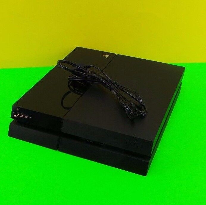 Playstation 4 - Used Sony PS4 Playstation 4 Black Video Game Console 500GB Good #nostam