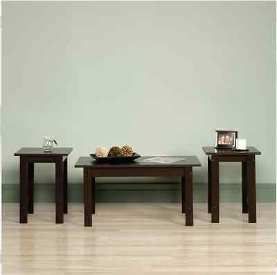 Coffee Tables And End Tables Sets Living Room 3 Piece Cherry Lamp Furniture Side Cherry Living Room End Table