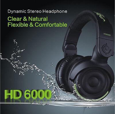 Stereo MP3 iPhone iPod Dynamic Stereo Closed-Back Studio Monitor Headphones DJ