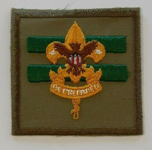 BSA Vintage Assistant Senior Patrol Leader Insignia Badge PB 1965-1971
