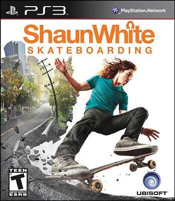 Ubisoft Shaun White Skateboarding Ps3 Playstation 3