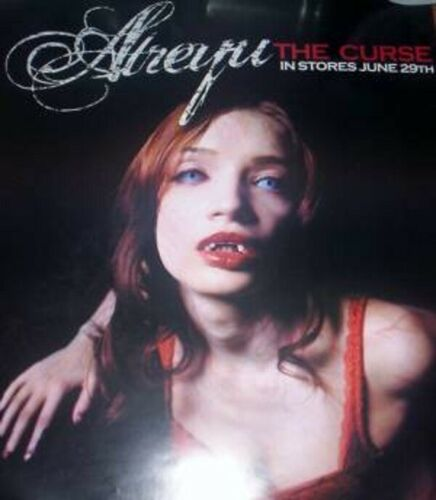 Atreyu - The Curse - Poster - 12x16 - Approx - Licensed - Rolled