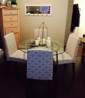***NEW DINING TABLE AND CHAIRS*** Price is negotiable