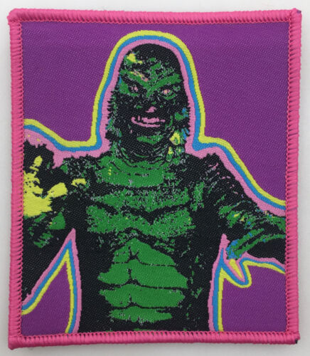 Creature from the Black Lagoon PATCH - Horror, Halloween, Monster vintage design