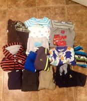 Boys winter clothing lot - 15 pieces (6 to 9 months)