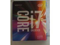 Processor Intel Core i7-6700k