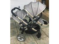 Icandy peach silvermint double blossom pushchair