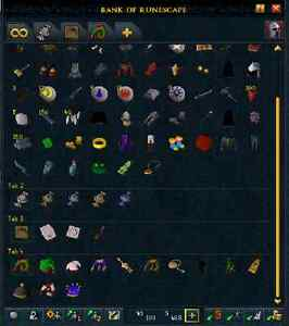 VERY OLD Runescape Account 2004 X-MAS items!