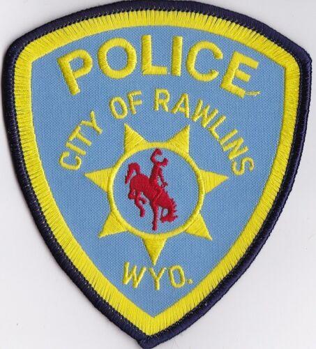 City of Rawlins Wyoming WY Police Patch