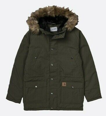 Carhartt IO21869 Mens Trapper Parka Jacket in KHAKI  S,M,L,XL,XXL - RRP £240 NEW