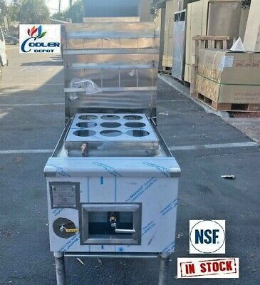 New 9 Hole Commercial Pasta Noodle Cooker For Restaurant Dining Nsf Approved