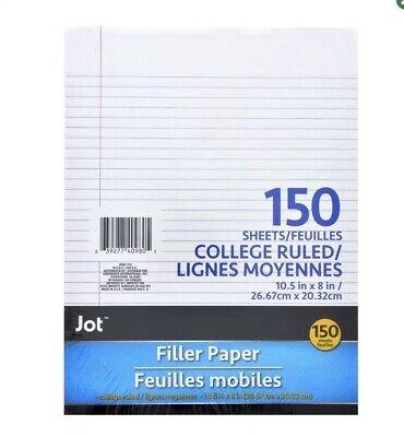 Jot Filler Paper 150 Sheets