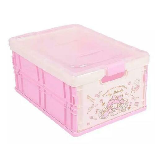 Cute My Melody Foldable Desk Snacks Jewelry Box Cosmetic Storage Box Organizer
