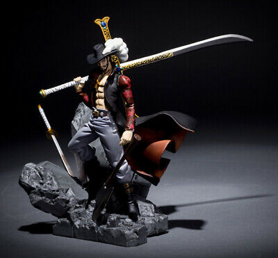 17cm One Piece Dracule Mihawk Anime Action-Figuren Dracula Mihawk PVC Figuren