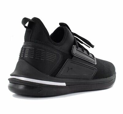 Puma Ignite Limitless Sr Men's Sneaker Shoes Black Trainers 190482-01 New