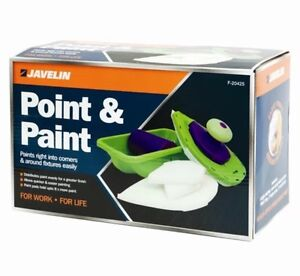 easy paint pro 4 foam pads roller n tray and painting point quick post tv uk slr ebay. Black Bedroom Furniture Sets. Home Design Ideas