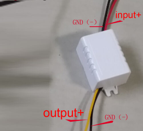 high voltage stabilization  DC BUCK 15-120V!!! to 5V 3A solar converter module