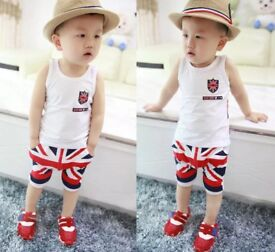 Baby boy Union Jack outfit brand new