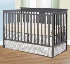 Grey Mission Ridge Convertible Crib