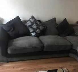 Large corner couch swap